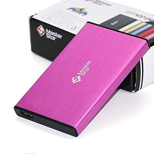 hard disk esterno rosa MasterStor 1 Anni di Garanzia-Disco Rigido Esterno USB 3.0 Super-Veloce 2