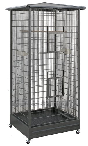 Exotic Nutrition Oriental Cage - 66' Tall Cage - for Sugar Gliders, Squirrels, Marmosets & Other Small Pets