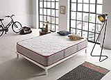 Colchón Viscoelástico Viscoroyal 30cm De Grosor, Gama Premium, Reversible Doble Cara, 135x190 cm
