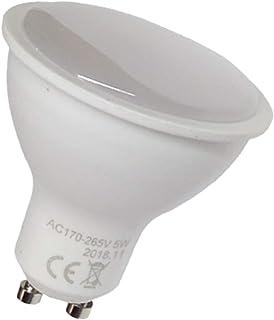 comprar comparacion Led Atomant Pack 10x GU10 LED 5W, 120 grados de apertura. Halogeno LED 550 lumenes reales - Recambio bombillas 50W (Blanco...