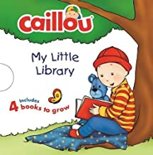 Caillou: My Little Library: Includes 4 Board Books