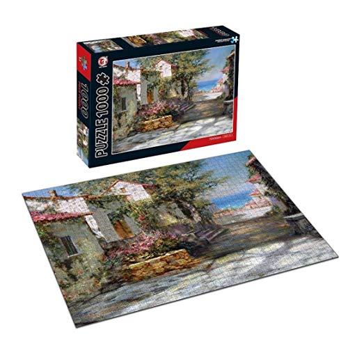 Valhalla Puzzles for Erwachsene 1000 Stück - Papier Spielzeug der Kinder Puzzle Spaß Puzzle kreative Teens Dekomprimierung DIY Geburtstagsgeschenk - Landschaft draußen vor der Tür (88015)