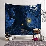 xkjymx Toalla de tapicería de Universo Manta Redonda Colgante de Pared Colgante de Pared Tapiz de Estilo nórdico Decoración de Tela