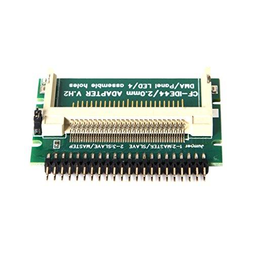 cablecc CF Compact Flash Merory Karte zum Laptop 2,544-poliger Stecker auf IDE Festplatte HDD SSD Adapter