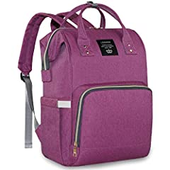 12 Individual Function Pocket --- Large capacity outdoor bag has 15 different function pocket built in, meet all the demands of a mommy or a traveller, separate the bottle, clothes, towels, underware and diaper away Waterproof Material --- Water resi...