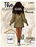 The Black Girl Magic 2021 Lifestyle Planner: 12 month Daily Planner (8.5 x11) Meal Planning, Budgeting, Habit Tracking, Goal Setting, Vision Boards