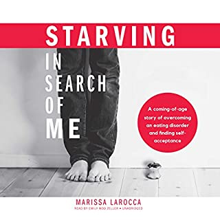 Starving in Search of Me audiobook cover art