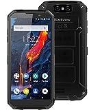 Blackview BV9500 Plus (2019) Rugged Smartphone Offerta - Helio P70 Octa Core, Batteria da 10000 mAh, 4GB + 64GB, 5,7 pollici FHD +, Android 9.0, IP68 Cellulare Antiurto, Ricarica Wireless–Nero