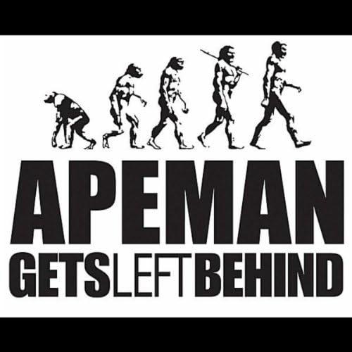 Ape Man Gets Left Behind