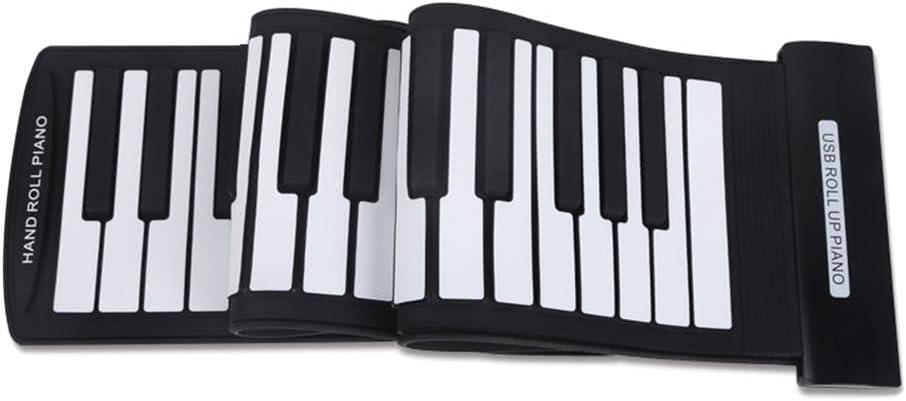 新登場 Raitron Portable 61 Keys Flexible Roll-Up USB Electro 希少 MIDI Piano