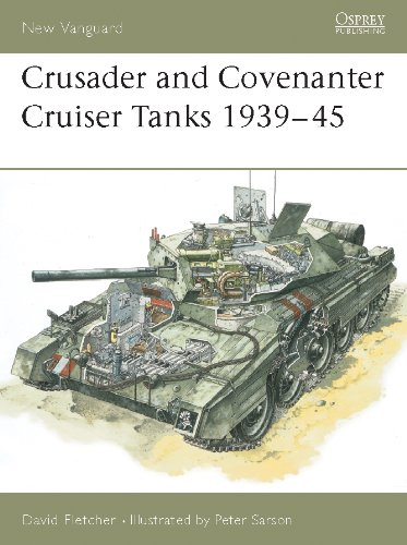 Crusader and Covenanter Cruiser Tanks 1939–45 (New Vanguard Book 14) (English Edition)