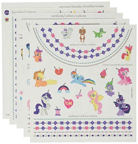 Savvi My Little Pony Glitter Jewelry Glitter Tattoos 213 Tattoos