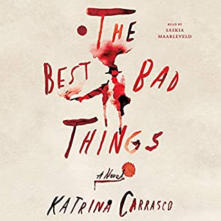 The Best Bad Things audiobook cover art