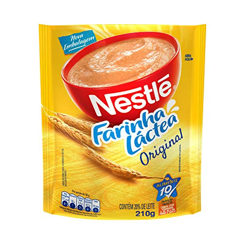 Farinha Láctea, Nestlé, Tradicional, 210 g