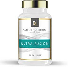 Amour Nutrition Ultra- Fusion Fat Burner Powerful Weight Loss Diet Pills with Raspberry Ketone Glucomannan L- Carnitine Chromium UK Made Quality Assured Estimated Price : £ 12,99