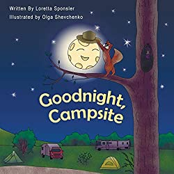 Goodnight Campsite Book for Kids