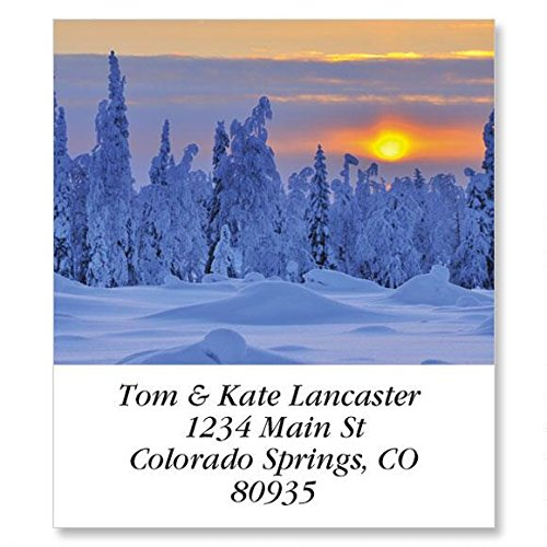 Alluring Sunscapes Self-Adhesive, Flat-Sheet Select Address Labels (12 Designs)