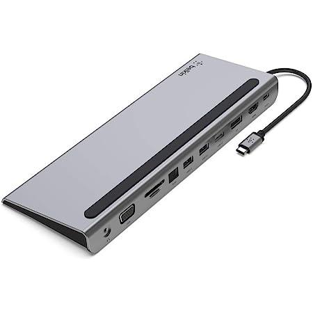 Belkin USB-C ハブドッキングステーション 11 in 1 MacBook / Windows PC / Chromebook 対応 INC004BTSGY-A