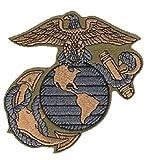 U.S. Marine Corps Logo Patch / USMC Insignia 4' Embroidered Patch