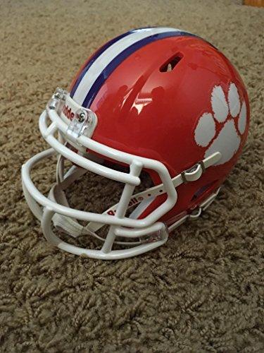 Riddell Clemson Tigers Officially Licensed NCAA Speed Full Size Replica Football Helmet