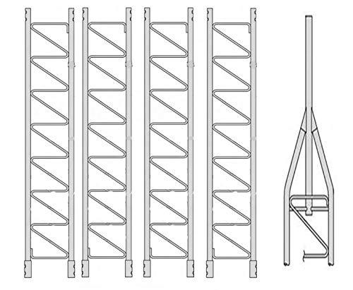 New ROHN 45G Series 50' Basic Tower Kit.