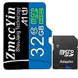 zmccyin 高耐久microsdカード フラッシュ搭載 (ドライブレコーダー向けメモリ)32GB Class10 5年間の保証