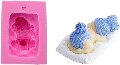 BESTOMZ Stampo silicone a forma di Neonato per torta dolci biscotti in Rosa