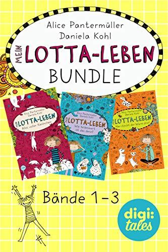 Mein Lotta-Leben Bundle. Bände 1-3: Mein Lotta-Leben (1). Alles voller Kaninchen; Mein Lotta-Leben (2). Wie belämmert ist das denn?; Mein Lotta-Leben (3). Hier steckt der Wurm drin!