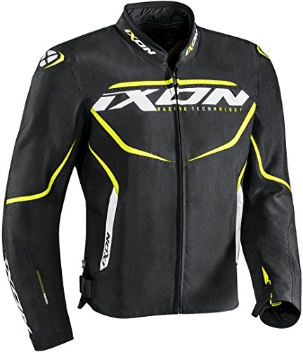 Ixon Chaqueta moto Sprinter Negro/Amarillo, Negro/Amarillo, XXL