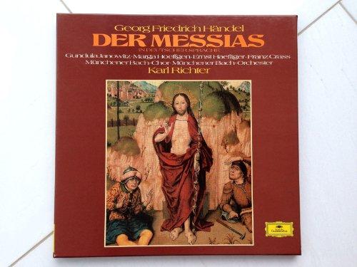 Händel: Der Messias (in deutscher Sprache) [Vinyl Schallplatte] [3 LP Box-Set]