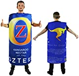 I Love Fancy Dress ILFD4019 Unisex Novelty Beer Can Costumes (One Size)