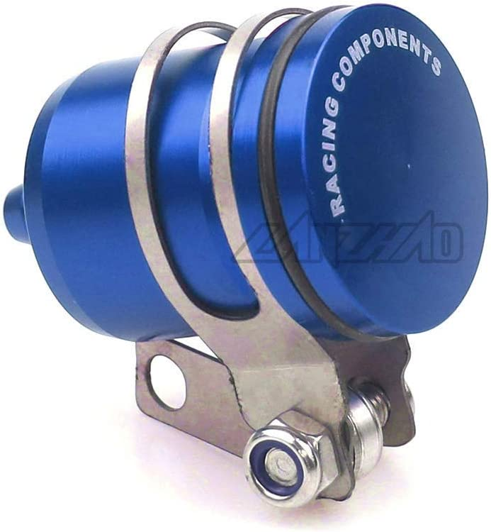HWH Great Material Universal CNC Aluminum Motorcycle Rear Brake Fluid Tank Reservoir Oil Cup forK-a-w-a-s-a-k-iZ900 Z900RS Z650 for H0NDA X-ADV 750 Grom for K.T.M Durable Color : Blue