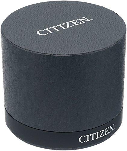 Citizen Eco-Drive Montre pour Hommes avec Cadran Marron Affichage Chronographe et Bracelet en Cuir...