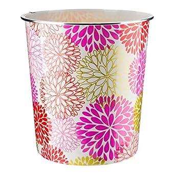 abstrakte Kunst 7,7 Liter leicht Blumenmuster Home Plus Papierkorb hochwertig