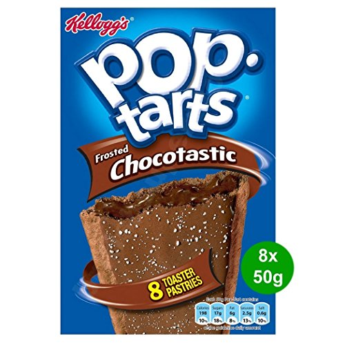 Kellogg's Pop Tarts Frosted Chocotastic 8x50g (400g)