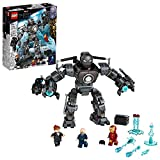 With its movable limbs and cool weapons, LEGO Marvel Iron Man: Iron Monger Mayhem (76190) inspires endless imaginative mech battles on a giant scale Includes Iron Man, Obadiah Stane and Pepper Potts minifigures. The mech has a 6-stud shooter on its r...