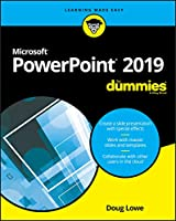 PowerPoint 2019 For Dummies Front Cover