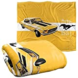Ford Mustang Mach 1 Officially Licensed Silky Touch Super Soft Throw Blanket 50' x 60'