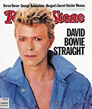 Rolling Stone Magazine # 395 May 12 1983 David Bowie (Single Back Issue)