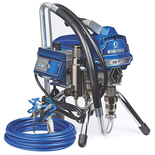 Graco Ultra Max II 490 PC Pro Electric Airless Paint Sprayer,...