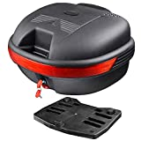 Yescom 30L Motorcycle Tour Tail Box Scooter Trunk Luggage...