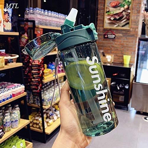 430 / 550ML Water shaker Flessen BPA Gratis Gym Fitness Ketel Outdoor Camping Picknick Fiets Klimmen Shaker Flessen nieuw, Groen, 550ml