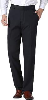 Xmiral Pantaloni Uomo Regular Fit Comodi di Grandi Dimensioni Casual in Tinta Unita per Uomo d'Affari
