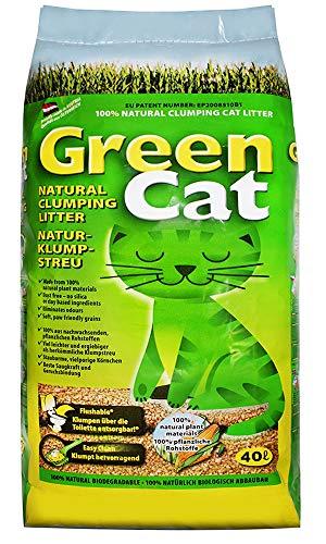 40 l GreenCat original Katzenstreu