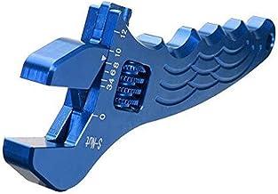 WYBW Tangen Hand Tool, Verstelbare Aluminium Wrench Fitting Tools Spanner 3 Kleuren Gereedschap,Blauw
