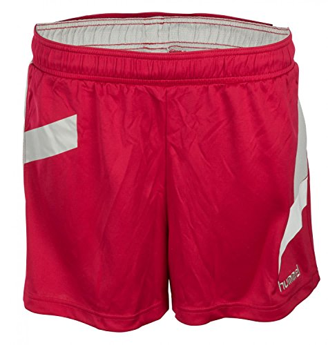 hummel Damen Futures Womens Poly Shorts, Persian Red, L