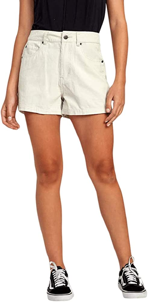 RVCA Women's Raleigh Mall Shipping included Lyric Short High Rise