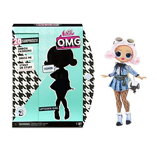 LOL Surprise OMG 38 Doll- Uptown Girl,25 cm große bewegliche Fashion Puppe mit 20 Überraschungen