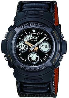 CASIO G-SHOCK Men's Combi Quartz Watch with Black Analogue/Digital Display and Dark Green Nylon Strap Aw-591Ms-3Aer (B000W6TRT2)   Amazon price tracker / tracking, Amazon price history charts, Amazon price watches, Amazon price drop alerts
