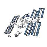 TiKiNi Bloque De Construcción De La Estación Espacial, 876 Piezas De Juguete Para Niños De La Estación Espacial Internacional De Bloques De Construcción Juguete Divertido